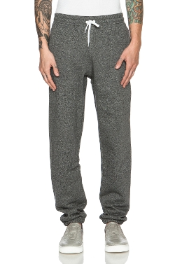 Maison Kitsune - Jogging Molleton Cotton Pants