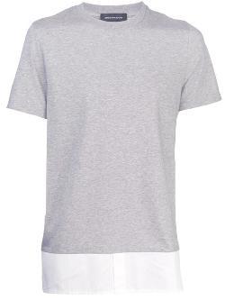 Kris Van Assche  - Field Jacket Shirt Hem T-shirt