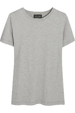 SOPHIE HULME  - Chain-embellished cotton-jersey T-shirt