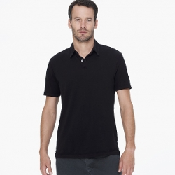 James Perse - Sueded Jersey Polo Shirt