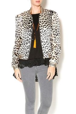 Lucy Paris - Leopard Bomber Jacket