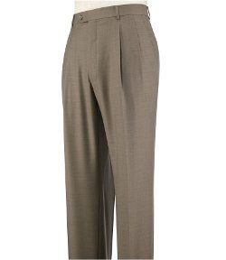 Traveler - Tailored Fit Pleated Front Trousers