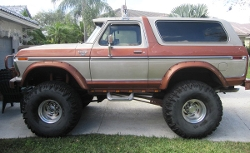 Ford Bronco - 1978 Custom XLT Monster Truck