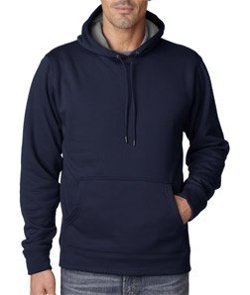 UltraClub - Sport Hooded Fleece Jacket
