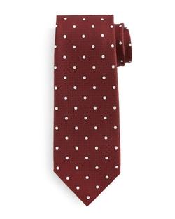 Tom Ford  - Polka Dot-Print Silk Tie