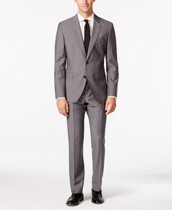 Hugo Boss - Mini Grid Extra Slim-Fit Suit