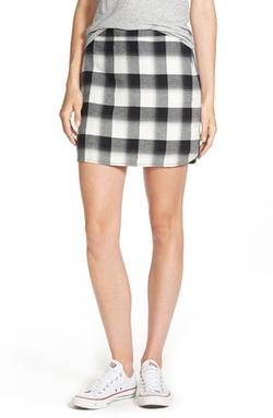 Treasure&Bond - Plaid Miniskirt