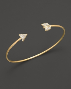 Meira T - Arrow Bangle Bracelet
