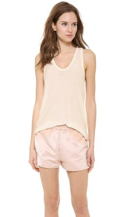 T by Alexander Wang  - Slubbed Classic Tank