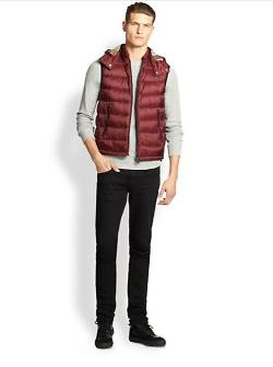 Burberry Brit  - Hooded Puffer Vest