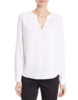 Lord & Taylor - Pleated Blouse