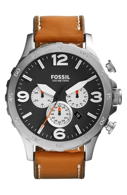 Fossil - Nate IP Chronograph Watch