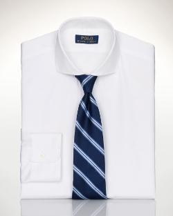 Ralph Lauren - Custom-Fit Spread-Collar Shirt