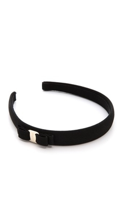 Salvatore Ferragamo - Vara Bow Thin Headband