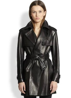 Burberry London - Maybole Leather Trench