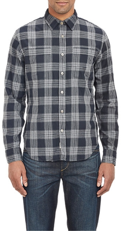 Todd Snyder  - Plaid Flannel Shirt
