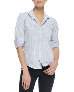 Frank & Eileen  - Barry Buttoned Striped Shirt