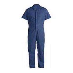 Berne Apparel - Poplin Short Sleeve Mens Coveralls
