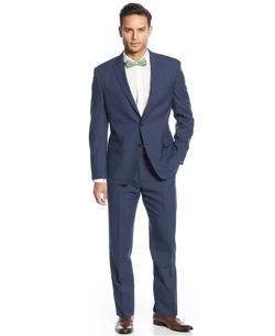 Tallia - Stripe Slim-Fit Suit