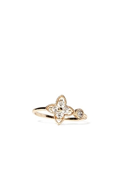 Forever 21 - Floral Rhinestone Ring