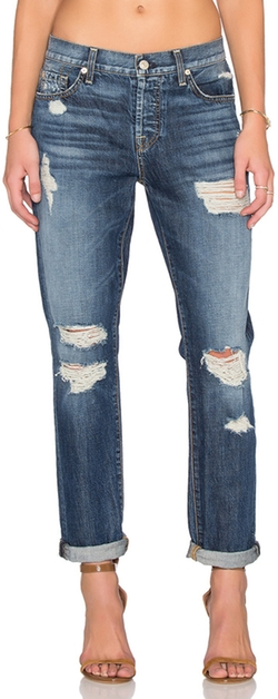 7 For All Mankind - Josefina Distressed Jeans
