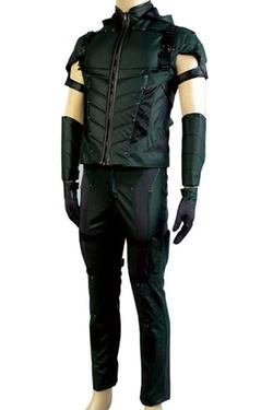 Firecos  - Green Arrow Oliver Queen Halloween Costume