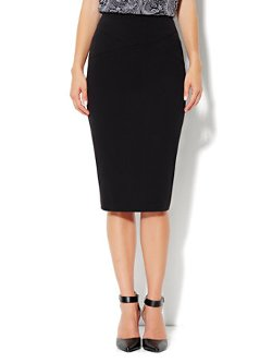 7th Avenue Suiting Collection - Solid Pencil Skirt