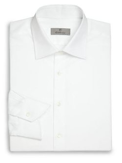 Canali - Regular-Fit Basic Dress Shirt