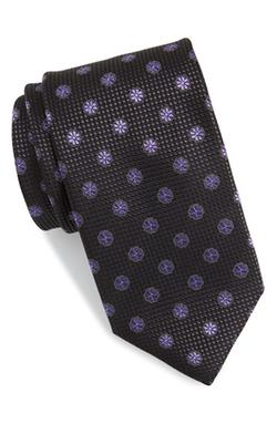 Canali - Floral Silk Tie