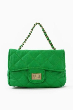 ICCO - Faux Leather-Quilted Bag