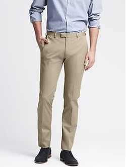 Banana-Republic - Slim-Fit Chino Suit Trouser