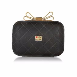 Love Moschino - Quilted Eco Leather Clutch Bag