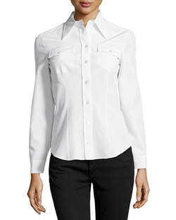 Michael Kors - Charmeuse Shirt