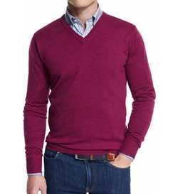 Peter Millar - Merino Wool V-Neck Sweater