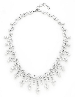 Adriana Orsini  - Faux Pearl Vine Collar Necklace