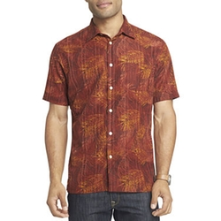 Van Heusen - Short-Sleeve Printed Shirt