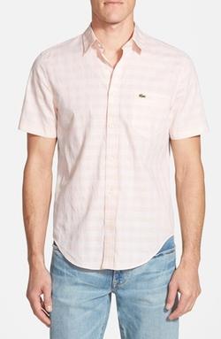 Lacoste - Check Poplin Shirt