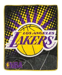 Northwest - New NBA Los Angeles Lakers Plush Throw Blanket