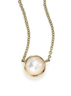 Ippolita - Lollipop Mother-Of-Pearl Pendant Necklace