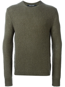 Neil Barrett   - Crew Neck Sweater