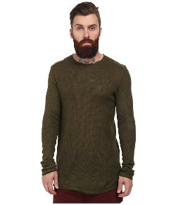 Publish - Eaton Waffle Knit Crew Long Sleeve Shirt