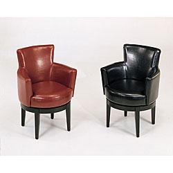 Bi-cast - Leather Swivel Club Chair