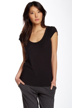 James Perse - Cap Sleeve Tee Shirt