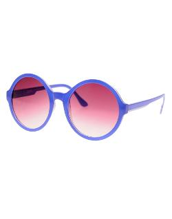 ASOS - Blue Round Sunglasses