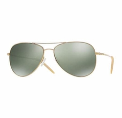 Oliver Peoples - Kannon Polarized Aviator Sunglasses