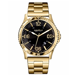 Caravelle New York - Gold-Tone Stainless Steel Bracelet Watch
