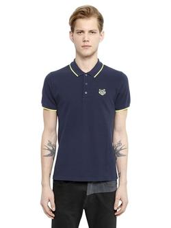 Kenzo - Cotton Piqué Polo Shirt