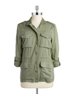 Design Lab Lord & Taylor - Cargo Utility Jacket