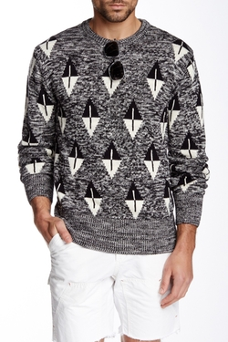 Gant By Michael Bastian  - The Marled Arrowhead Sweater