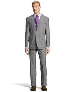 Yves Saint Laurent - Plaid Suit